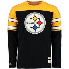 Pittsburgh Steelers Pump Fake Mitchell & Ness Crew Neck Sweatshirt