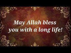 Muslim Birthday Wishes, Happy Birthday Dua, Spiritual Birthday Wishes, Birthday Wishes Songs, Happy Birthday Brother, Birthday Wishes Messages, Birthday Wishes And Images, Birthday Wishes For Myself, Birthday Quotes For Best Friend