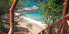 Cap Maison offers 22 Spanish-style villas set on a secluded sliver of beach. #Jetsetter