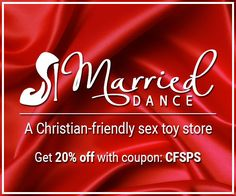 MarriedDance: Christian sex toys for couples
