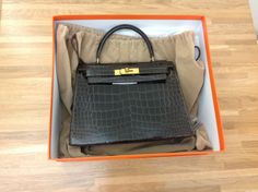 Hermès Crocodile Kelly Bag