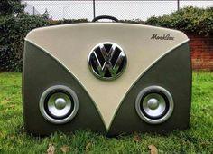 VW Type 2 style Speaker box