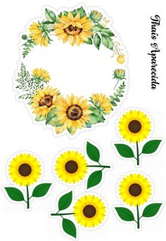 Cake Toppers, Personalized Gifts, Party Ideas, Sunflower Birthday Parties, Sunflower Party, Birthday Woman, Moana Party, Crochet Accessories, Butterflies