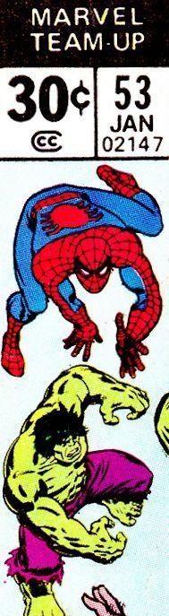 Marvel Team-Up corner box art - Spider-Man and the Hulk