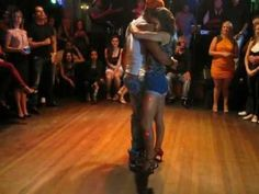 Latin Dance Central - Felix & Iris - Kizomba DEMO - Vivas NightClub 2013 - YouTube