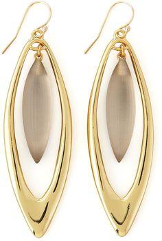 Alexis Bittar Neo Boho Large Marquise Drop Earrings