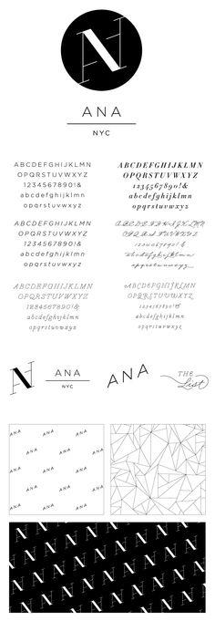 AnaPhoto Photographer Branding and Identity Design