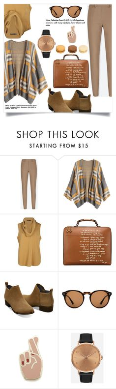 """""""SMARTBUYGLASSSES"""" by ajengyuanita ❤ liked on Polyvore featuring Uniqlo, Tory Burch, TOMS, Georgia Perry, Nixon and smartbuyglasses"""
