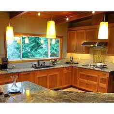 general look of kitchen when remodel done - Craftsman Style Kitchen, rainforest green marble