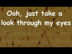 Phil Collins - Take a look through my eyes -  Lyrics - HD audio and video - YouTube