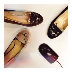 While the cats are asleep... | Charlotte Olympia