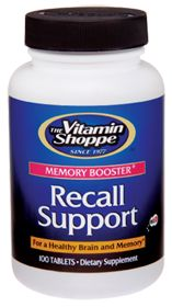 Recall Support - Buy Recall Support 100 Tablets atvitamin shoppe