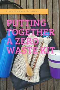 Living zero waste is all about preparation, putting together a kit of essentials will ensure you are always prepared when out and about Put Together, Zero Waste, Sustainability, Coffee Cups, Lunch Box, Essentials, Kit, Coffee Mugs, Coffee Cup