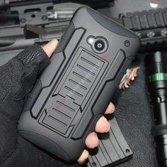 Carcasa diseño impacto militar para HTC One M7 - Proporciona una protección extra y da un toque de elegancia a su móvil con esta Carcasa diseño impacto militar para HTC One M7, es el accesorio que estabas buscando para resguarda su smartphone con estilo