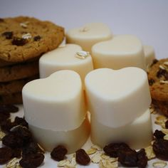Chocolate Chip Cookie Soy Wax Melts/Tarts | blackberrythyme - Candles on ArtFire