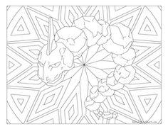 Onix Pokemon 095 Coloring PagesKids ColoringAdult ColoringColor SheetsPikachuChildhood