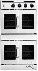 """American Range AROFFE230 30"""" Double French Door Electric Wall Oven with 4.7 cu. ft. Capacity, Innovection Convection, Manual Clean, Instagrill Broiler, porelainized interior - $7600-8000"""