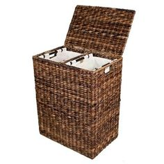 Shop for BirdRock Home Abaca Divided Laundry Hamper. Get free delivery at Overstock.com - Your Online Housewares Outlet Store! Get 5% in rewards with Club O! - 19249722