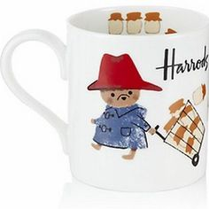 Can you imagine a cuter way to drink your coffee each morning? This adorable Paddington mug is available at Harrods in Japan.