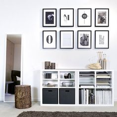 Two Ikea 'Kallax/Expedit' shelves @mxlivinghome