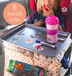 10 DIYs for Making Travel with Kids a Whole Lot Easier