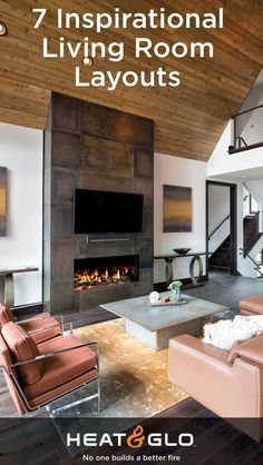 33 Contemporary Spaces Ideas Heat N Glo Gas Fireplace Contemporary
