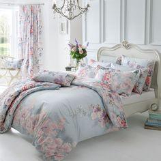 Dorma Bedding Set - Kimono.  Beautiful floral and duck egg bedding x