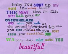 what makes u beautiful