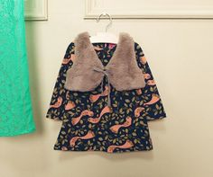 Girl's dress for  Everyday special design by hellodearkids on Etsy, $37.00