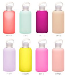 Always keep water in your locker! (These bottles are very cute!) you need to stay hydrated and refreshed, keep one of these puppies in your locker and take some sips during breaks and fill it back up during lunch <3
