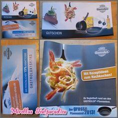 Außerdem bekam ich beim großen Gastrolux Pfannentest auch Gutscheine, eine Informationsbroschüre und einen Rabattcoupon.