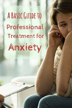 This is a wonderful post on getting professional treatment for Anxiety and gives you some great insight on the different treatments and therapists!