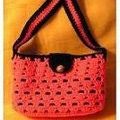 Learn How to Crochet a Handbag with These Free Patterns: Lined Crochet Bag in Boxed Shell Stitch