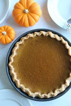 The Easiest Paleo Pumpkin Pie Recipe (Vegan-Friendly!) | Kelsey Ale