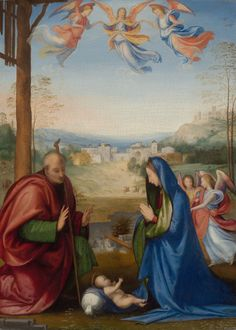 Fra Bartolomeo : The Nativity (Art Institute of Chicago  (United States - Chicago)) 1472-1517 フラ・バルトロメオ