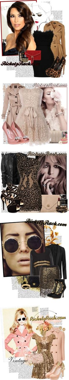 """""""RicketyRack.com"""" by channchann ❤ liked on Polyvore"""