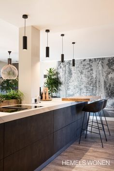 This pin of kitchen design & decor available on Hometalk and all over web. Brought to you by Kitchen Lovers! Home Kitchens, Rustic Kitchen, Contemporary Kitchen, Kitchen Remodel, Kitchen Inspirations, Kitchen Decor, Modern Kitchen, Kitchen Interior, Interior Design Kitchen