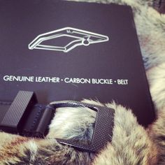 #KASPARI #carbonfiber #buckle #belt #luxury #leather #accessories
