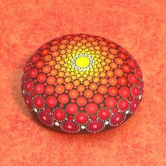 Mandala Stone Large by KimberlyVallee on Etsy