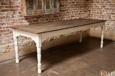 maybe I need a table with cream legs to tie the kitchen into the dining room...