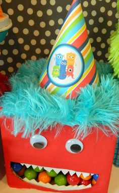 Monster Bash Themed Birthday Party