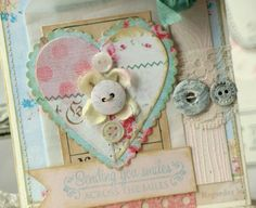 Sweet Spring - a card by Beatriz Jennings using Melissa Francis papers