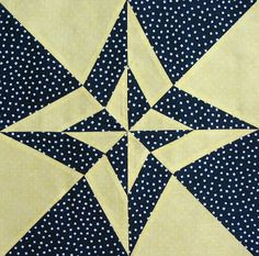 Starwood Quilter: Night and Day Quilt Block