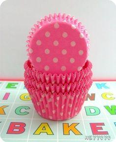 oh so cute pink polka dots