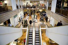 Visit Copenhagen's interior design heaven Illums Bolighus at Strøget. Royal Copenhagen, Design Shop, Danish Interior Design, Bolighus, Architecture, Furniture, Department Store, Home Decor, Iris