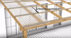 Laying Corrugated Sheets Correctly - Tips on Substructure, Tools & Design- Wellplatten richtig verlegen – Tipps zu Unterkonstruktion, Werkzeug & Aufbau © 2014 W & S Plastics - Corrugated Sheets, Corrugated Roofing, Screened In Patio, Backyard Pergola, Lean To, Shed Homes, Diy Outdoor Furniture, Tool Design, Metal Roof