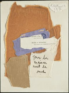 Diary of a painter. Robert Motherwell