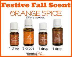 Festive Fall Scent: Orange Spice | TheMarathonMom.com