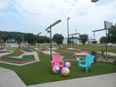 Wilkesboro Mini Golf and Game Come try the new mini golf of Wilkes County with a ''Tiki Hut'' theme, offering video games, Birthday parties & events, and serving hot dogs, pizza, nachos and cheese, popcorn & drinks. (336) 838-7888