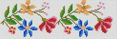 This Pin was discovered by Peo Beaded Cross Stitch, Cross Stitch Borders, Cross Stitch Rose, Modern Cross Stitch, Cross Stitch Flowers, Cross Stitch Designs, Cross Stitching, Cross Stitch Embroidery, Hand Embroidery